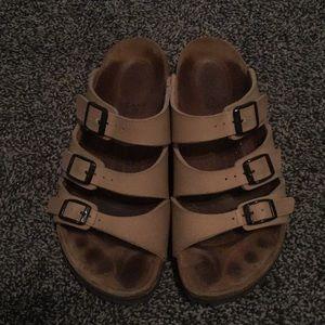 Size 38 Birkenstock sandals